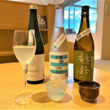 日本酒のみ比べ